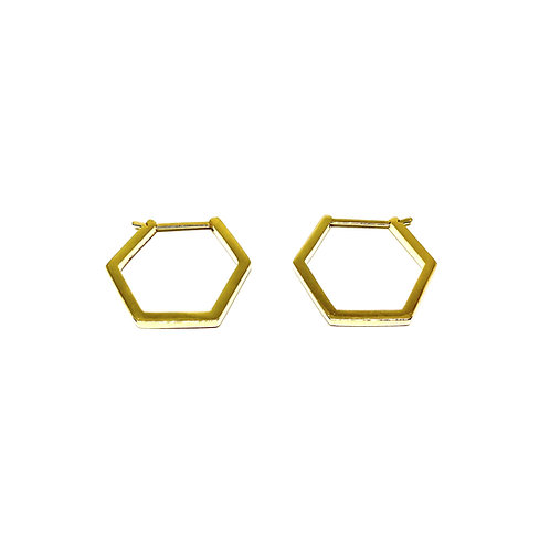 HEXAGON Earrings - Large