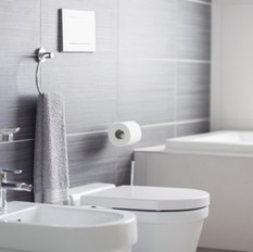 Badezimmertoilette