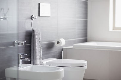 Badkamer toilet