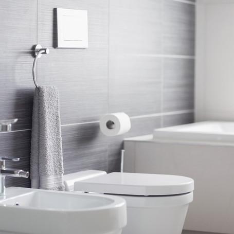 Bathroom renovation in Seattle.