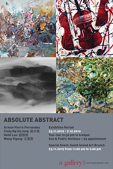 """""""Absolute Abstract """" Group Exhibition"""