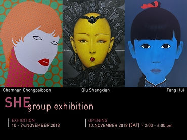"""""""SHE"""" Group Exhibition"""
