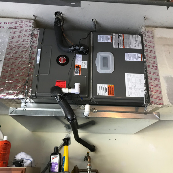 Rheem 5 ton compact air handler