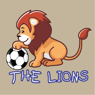 Lion ball t-shirt