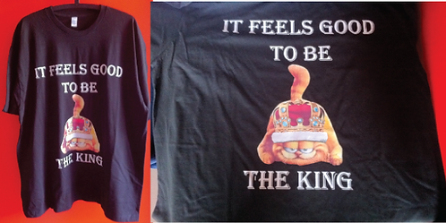 Garfield king t-shirt