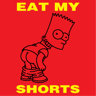 Eat my shorts t-shirt