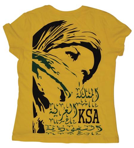 KSA woman t-shirt