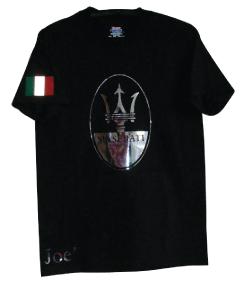 Maserrati t-shirt metalic