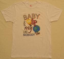 #baby #you #light #up #my #world #like #nobody t-shirt @pimpurshirt #tshirt #Jed