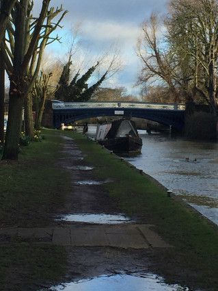 The Fifth Stage of Walking the River Thames