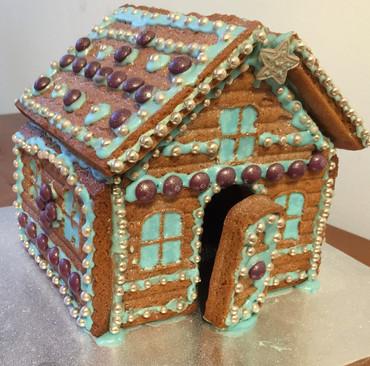Blue and Purple House