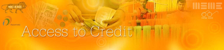 MSME Credit Facilities