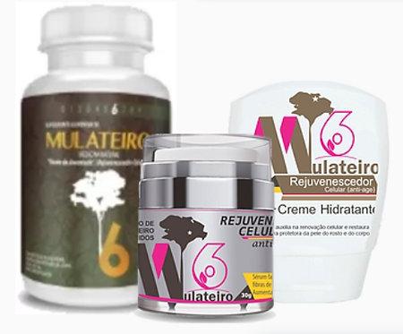 Kit Mulateiro [m6] - Hidrante + Capsulas + Serum
