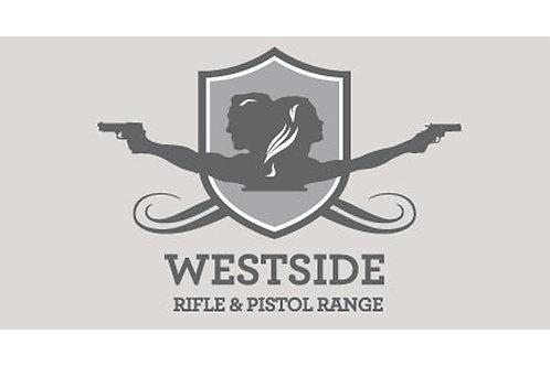 West Side Rifle &Pistol Range Class Ticket