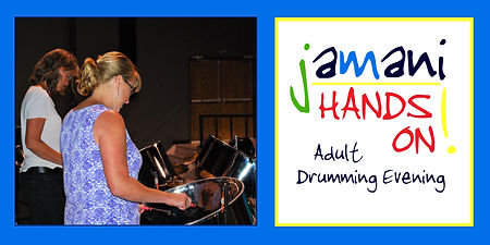 Header - jamani hands on! Adult Drumming