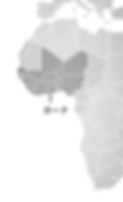 西アフリカ地図
