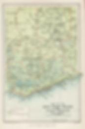奴隷貿易の基地となった西アフリカ沿岸部(1896年の地図)