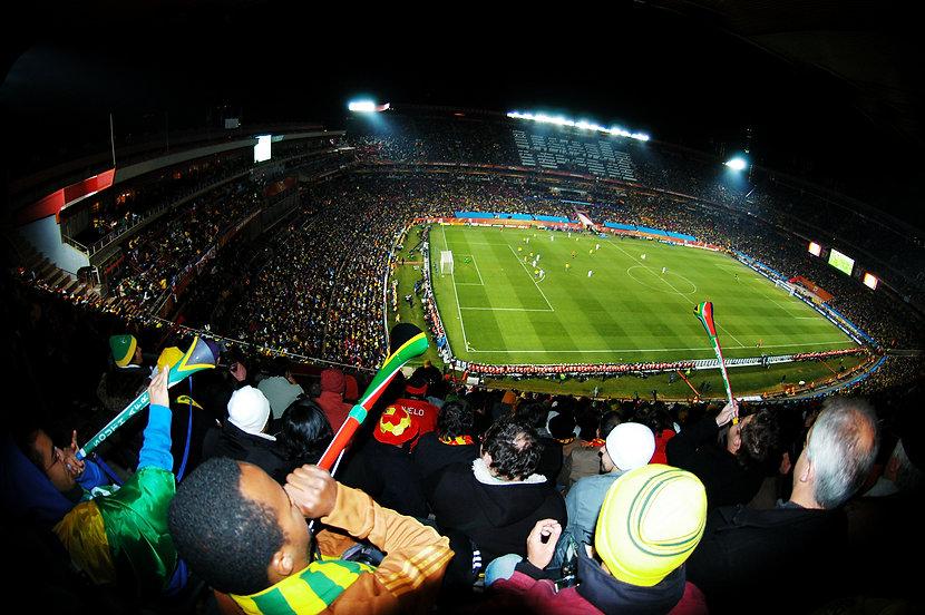 ブブゼラが鳴り響く2010年の南アフリカ大会