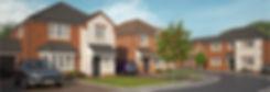 Eden Homes Holt CGI Street Scene Website