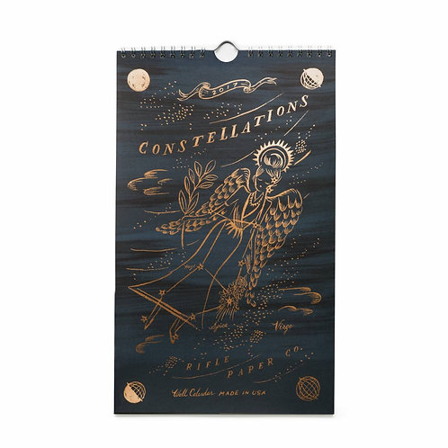 Constellations 2017 Everyday Wall Calendar