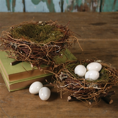 Spring Twig Nests