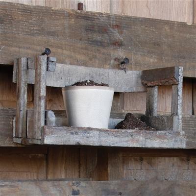 Wooden Garden Shelf