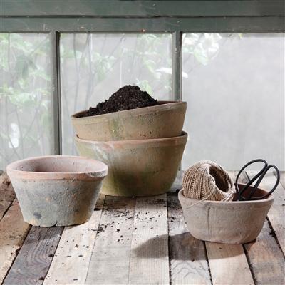 Rustic Clay Pots