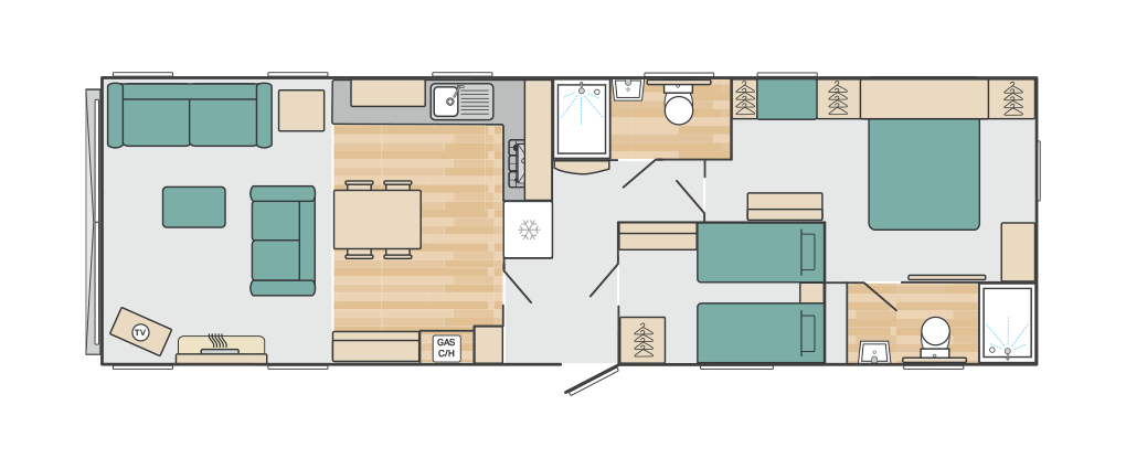 2021 Vendee floorplan