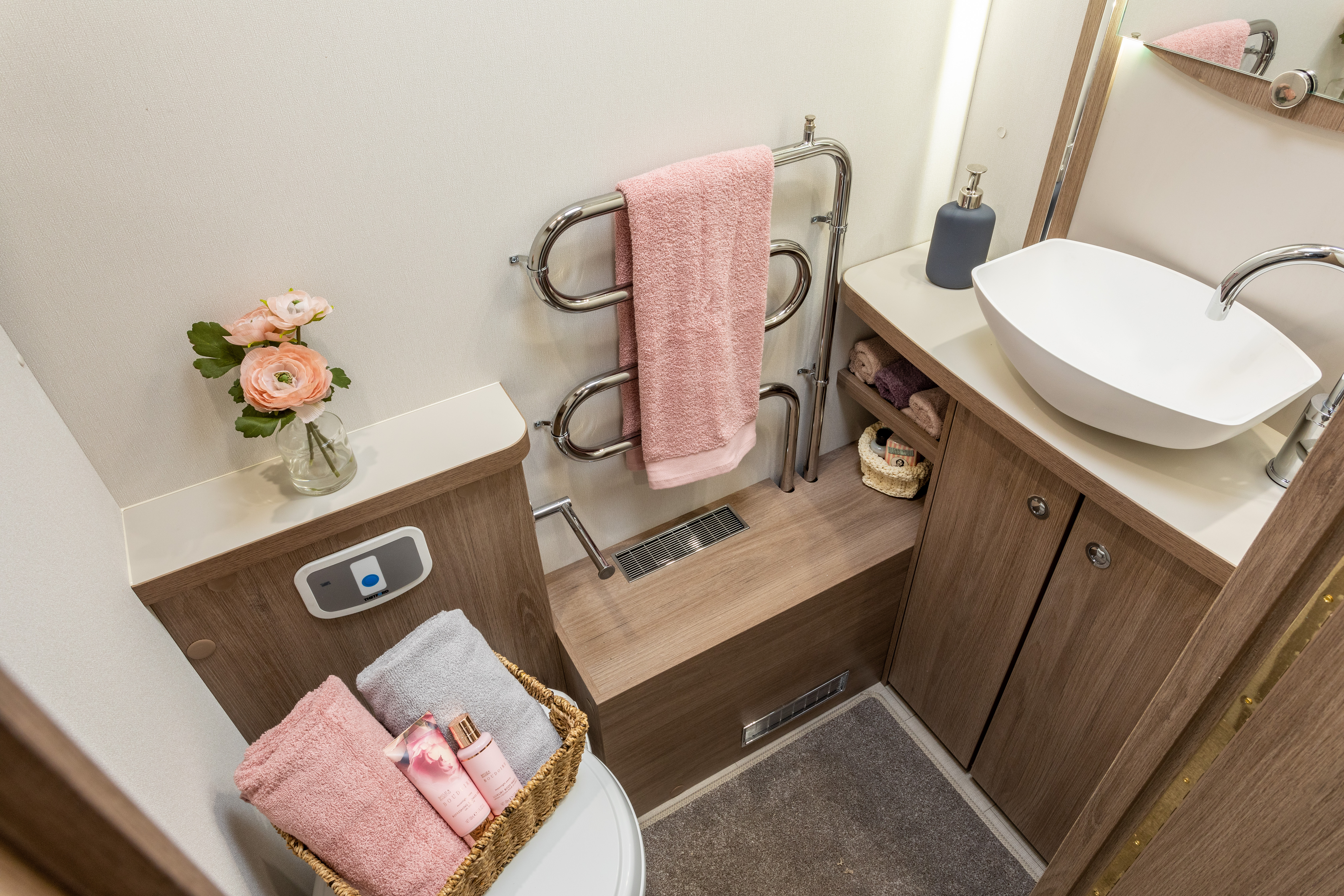 CAPIRO 550 - Washroom