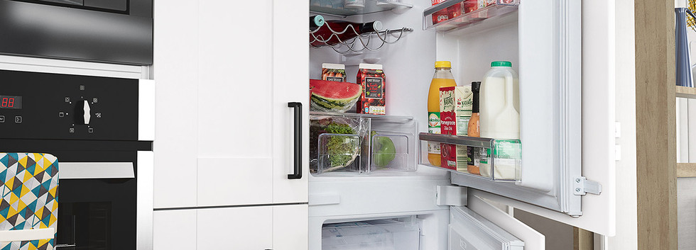 Intregrated Fridge Freezer