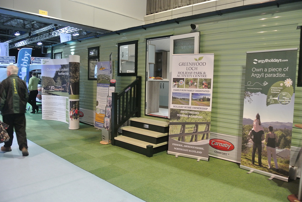 Greenwood Loch by Carnaby Hainsworth Holiday Home at #caravanshowsecc