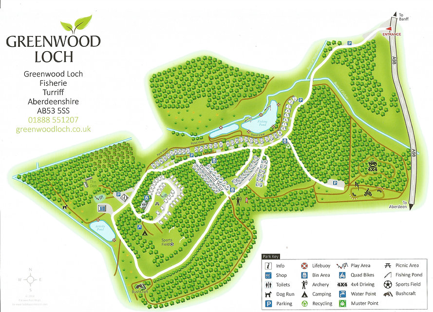 Greenwood Loch Site Map