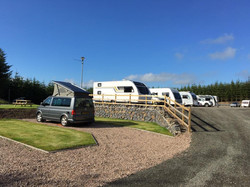 Touring Site at Greenwood Loch