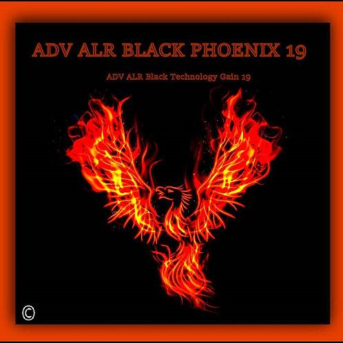 "1 GAL ADV ALR BLACK PHOENIX 19 screen size 195"""
