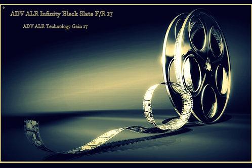 "1 QT ADV ALR Infinity black slate  front / rear 17 screen paint 100"" 120"" 16:9"