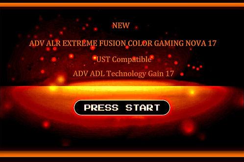 """1 QT ADV ALR EXTREME FUSION COLOR GAMING NOVA 17  screen paint 100"""" - 120"""" 16:9"""