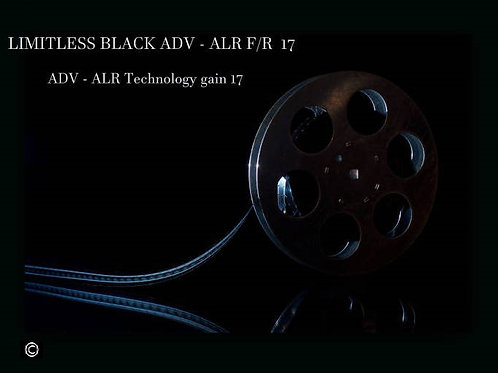 """1 GAL Limitless black ADV - ALR  front & rear 17 screen paint 100"""" - 195"""" 16:9"""