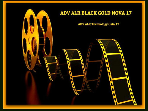 "1 GAL ADV ALR BLACK GOLD NOVA 17 screen paint 100""- 190"" 16:9"
