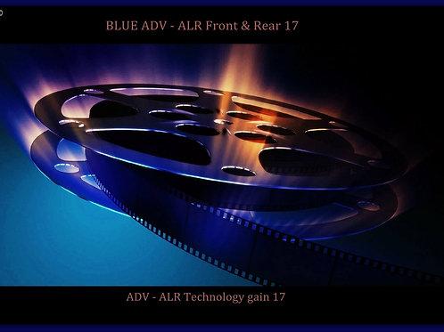 "1 GAL BLUE ADV - ALR  front & rear 17 screen paint   100"" - 190"" 16:9"