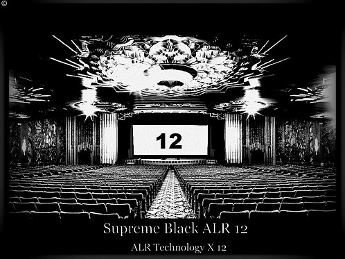 "1 Gal Supreme black ALR 12 screen paint 100"" 196"" 16:9"