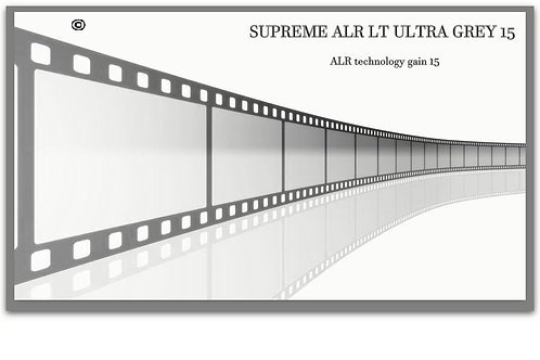 "1 GAL supreme  ALR LT ULTRA GREY 15 screen size 100"" - 190"" 16:9"