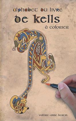 Alphabet du livre de Kells à colorier