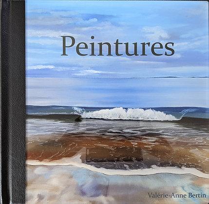 Livre-photo de Peintures réalisées par Valérie-Anne Bertin