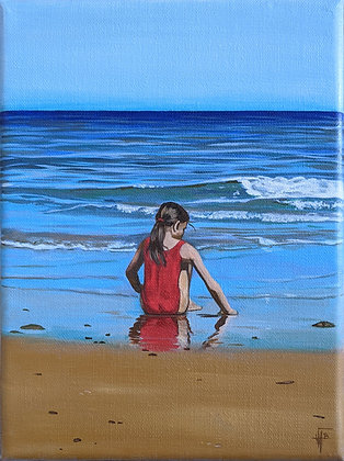 Sur le sable