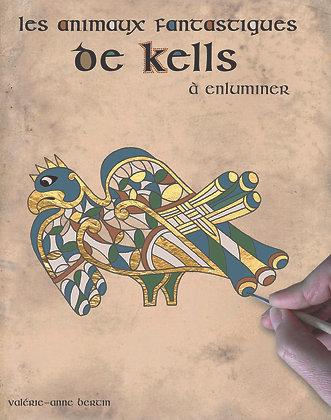 Les animaux fantastiques de Kells à enluminer