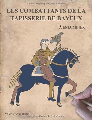 Les combattants de la Tapisserie de Bayeux: à enluminer