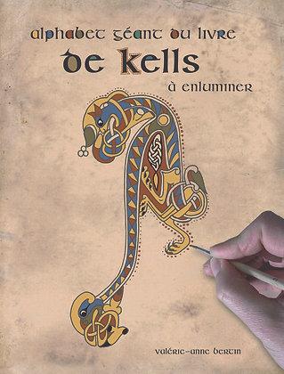 Alphabet géant du livre de Kells à enluminer