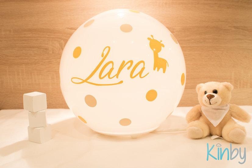 Lampe mit Namen: Shellgelb und Safran