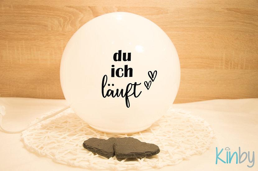 """Lampe """"Du&Ich"""""""