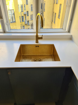 Vores egen messing vask underlimet i kerrock